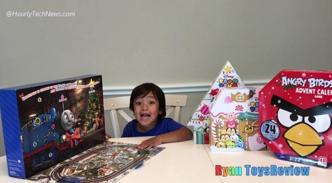 Toys For Boys Six Year : Meet ryan the six year old boy who made 11m usd this year reviewing