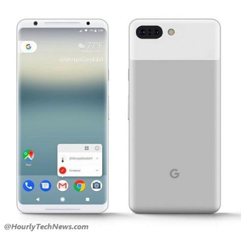 Google Pixel 2 XL smartphone UK