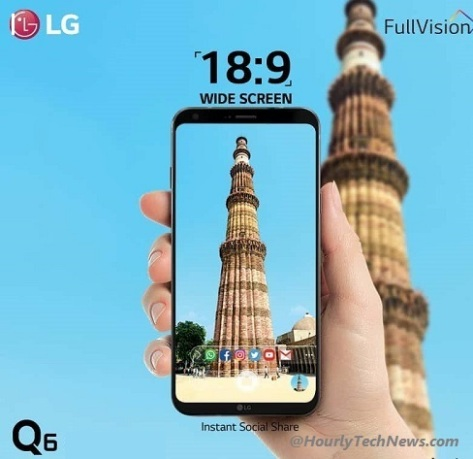 LG Q6 mobilephone review UK