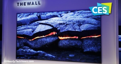 The 146 inches New samsung modular TV - The wall